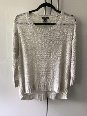 H&M Maglione oversize bianco