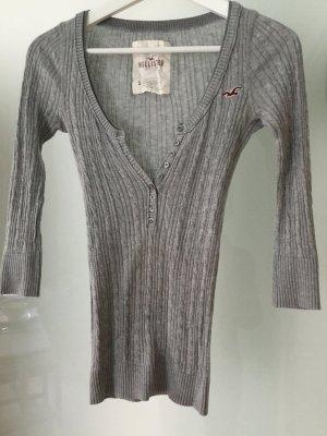 Pullover  von Hollister aus Baumwolle XS Zopfmuster