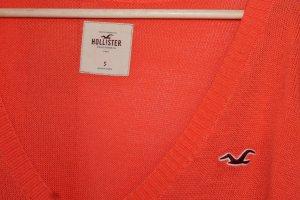 Pullover von Hollister in Orange und Größe S