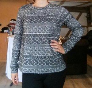 Pullover von JdY Gr. L schwarz weiss