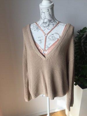 Pullover von Josephin Beström neu beige Gr M