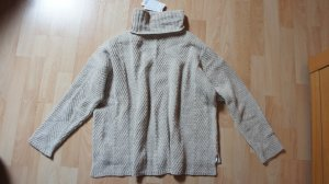 Pullover von Mango Gr. S beige Rollkragen - NEU - OP 39,99