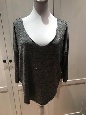 Pullover von Mango Silber