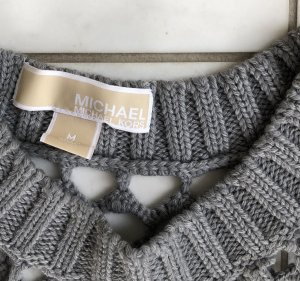 Michael Kors Coarse Knitted Sweater grey
