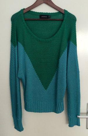 Minkpink Sweater green-cornflower blue