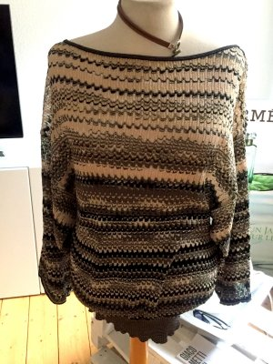 Pullover von MISSONI mit tiefem Rückenausschnitt, Grösse 40