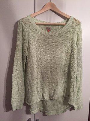 Pullover von Only pastellgelb