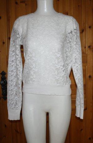 Pullover von Orsay in Häkeloptik