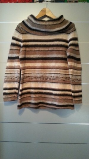 Pullover von Public, Kaschmir und Seide Anteil, Größe XL / 42, braun, beige