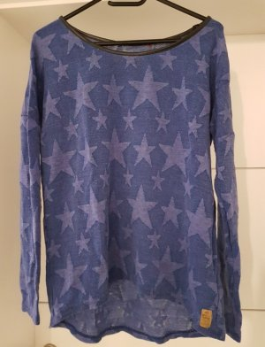 QS by s.Oliver Sweater staalblauw