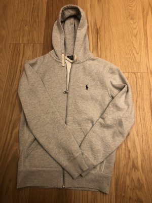 Polo Ralph Lauren Hooded Sweater light grey-white