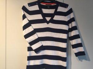 Pullover von Ralph Lauren pfiffig mit 3/4 Ärmeln und V-Ausschnitt, Größe XS