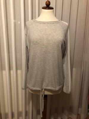 Rena Marx Cashmere Jumper light grey-white mixture fibre