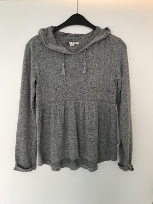 Roxy Maglione con cappuccio grigio chiaro-grigio
