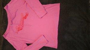 Sansibar sylt Jersey de cuello redondo rosa Algodón
