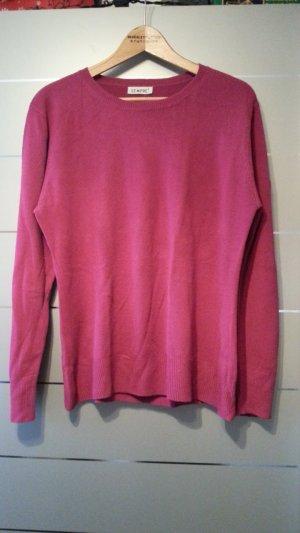 Pullover von Sempre, 100 % Caschmere Acrylic, magenta / rosa, Größe L