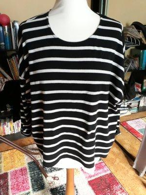 Set Maglione oversize bianco-nero