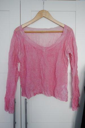 Pullover von Set rosa Crinkle Sommer Gr. 36 nur 1x getragen!
