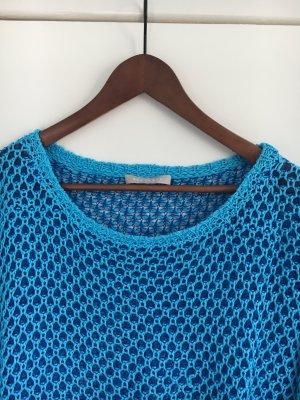 Pullover von Stefanel Blau/Hellblau