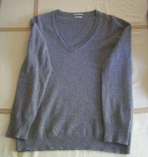 Pullover von Stile Benetton, Größe M, grau, Merino extra fine