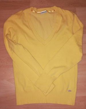 Street One Jersey con cuello de pico amarillo