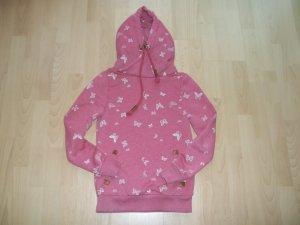 Pullover von Sublevel in Gr. XS 34 mit Schmetterlingen Kapuzenpullover