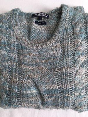 Tommy Hilfiger Wool Sweater azure wool