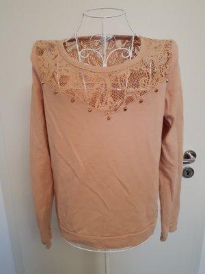 Pullover von Vero Moda, lachsfarben Gr. 38