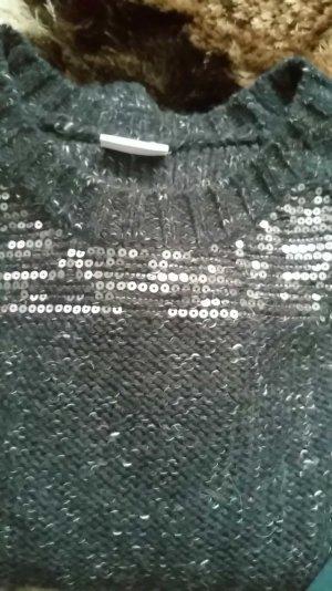 Pullover von Villa in graublau