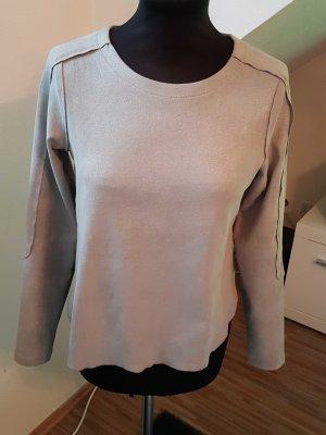 Pullover von Yaya, grau glitzer