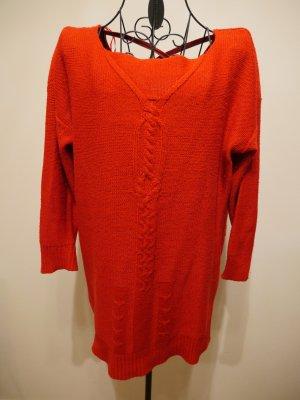 Zara Pull à manches courtes multicolore laine