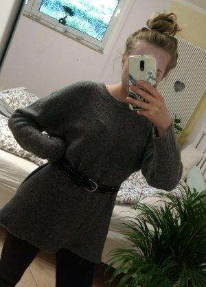 Zara Maglione oversize grigio scuro