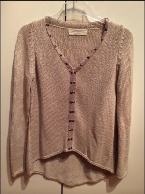 Zara Knitted Sweater grey brown