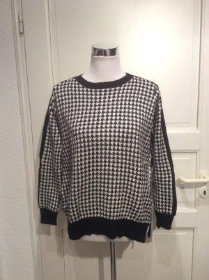 Pullover von Zara in Hahnenmuster