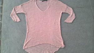 Pullover von Zara Knit M in rosa