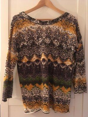 Pullover von Zara mit Leoprint