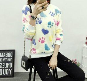 Pullover Weihnachten Kuschel-Pullover Sweatshirt M kuschelig NEU