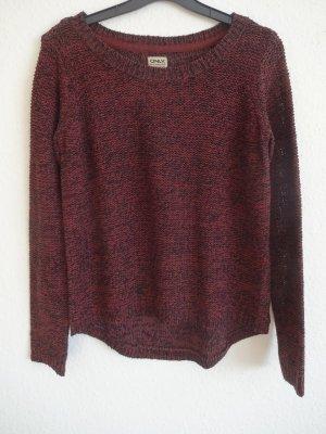 Pullover weinrot von Only