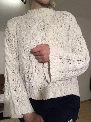 H&M Jersey largo blanco-blanco puro