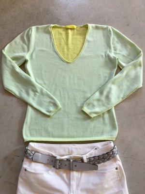 Witty Knitters V-Neck Sweater primrose-pale green