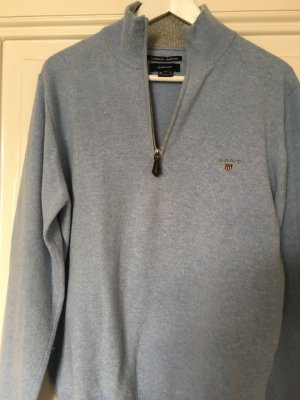Pullover Wolle Cashmere Hell Blau M