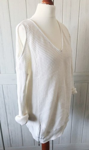 Ashley Brooke Knitted Sweater white-natural white