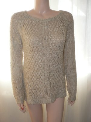 Pullover Yessica creme/gold