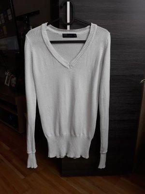 Zara Jersey blanco