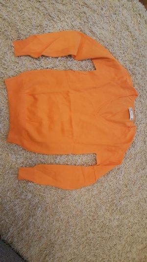 Zara Knitted Sweater orange