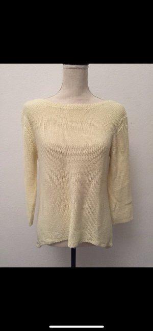 Pullover, Zara, gelb, S-M