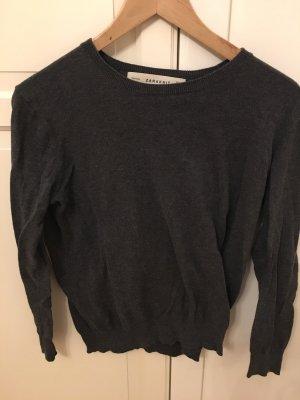 Pullover Zara grau S