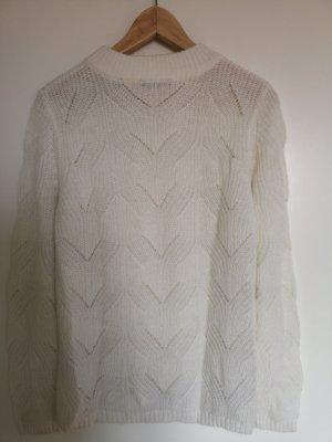 Pullover, Zero, weiß, 38 / M