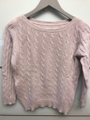 Peter Hahn Pullover in cashmere rosa pallido