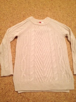 Pullover , Zopfmuster , warm, Gr.XS/S